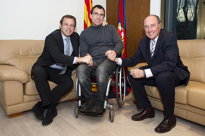 La Fundación FC Barcelona Y La Fundación Step By Step Firman Un Acuerdo De Colaboración
