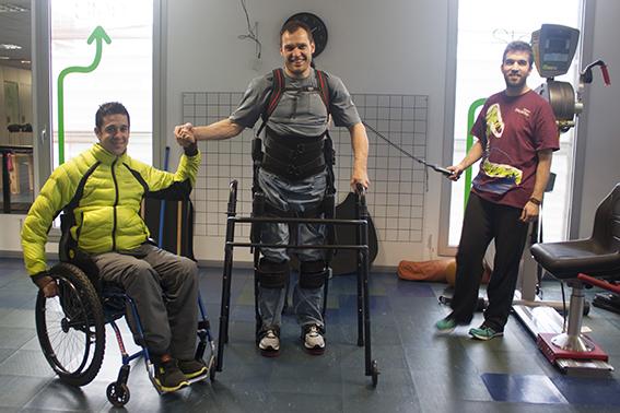 Llovera Y Lascorz, Dos Campeones Con El Ekso