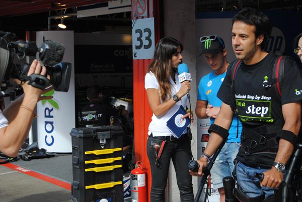 Nuestro Embajador Pol Espargaró Nos Recibe En Su Box En El GP Catalunya