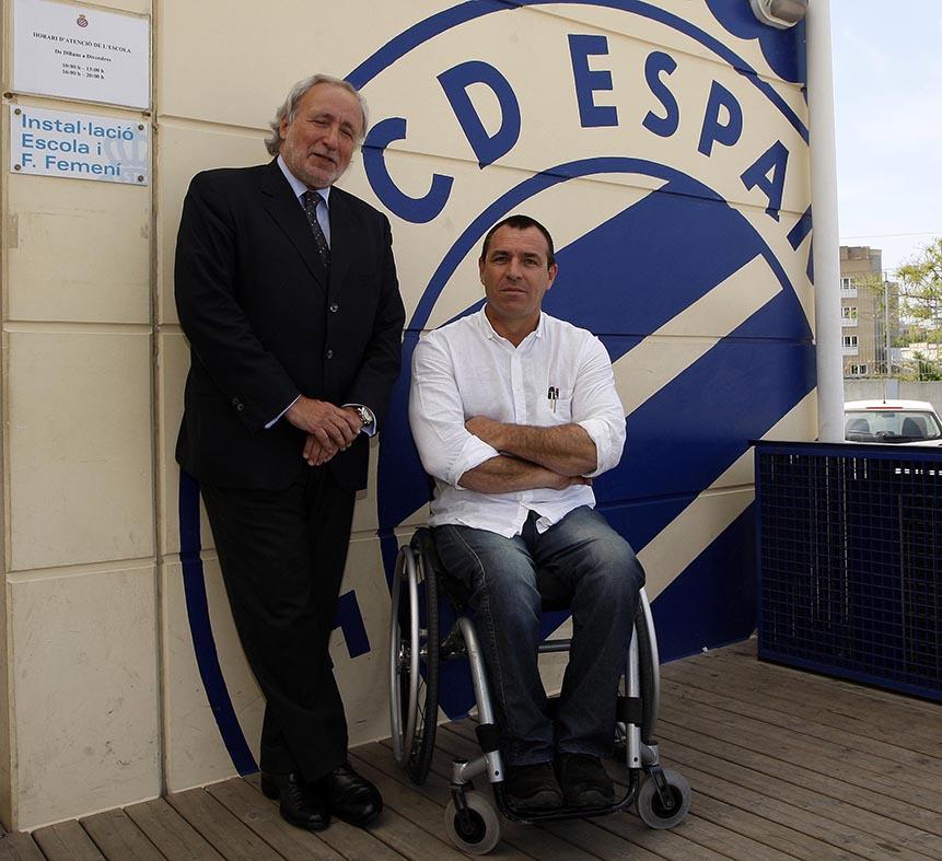 La Fundación Step By Step Signarà Un Conveni De Col·laboració Amb La Fundació De RCD Espanyol